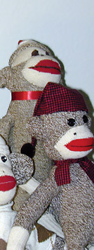 prehistoric sock monkey